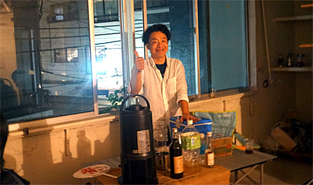 COFFEE ROASTER HAMASAKIの濱崎さん